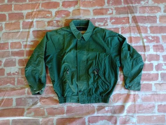 Vintage 90s McGregor Sportwear Jacket Green Mcgreg