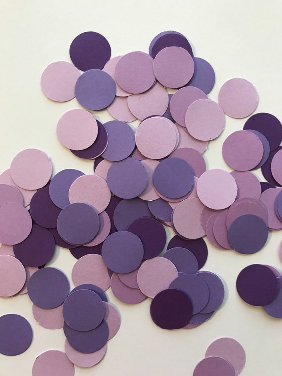 Purple Confetti Shades Of Table