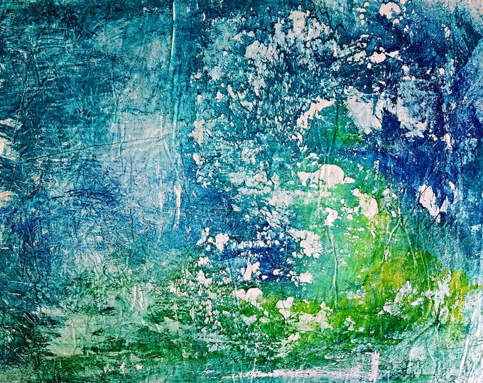Conjuncture (n.362) - 81,00 x 68,00 x 2,50 cm - ready to hang - acrylic painting on stretched canvas