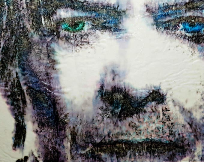David B. (n.365) - 72,00 x 51,00 x 2,50 cm - ready to hang - acrylic painting on stretched canvas