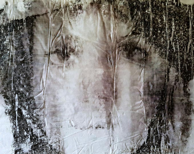 Piccola Giulia (n.342) - 50,00 x 71,00 x 2,50 cm - ready to hang - mix media painting on stretched canvas