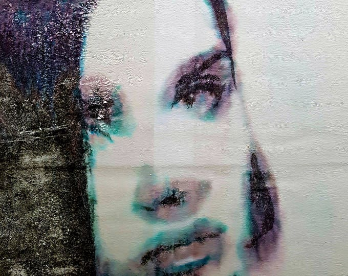 NOT AVAILABLE !!! - Martina (n.366) - 52,00 x 72,00 x 2,50 cm - ready to hang - acrylic painting on stretched canvas