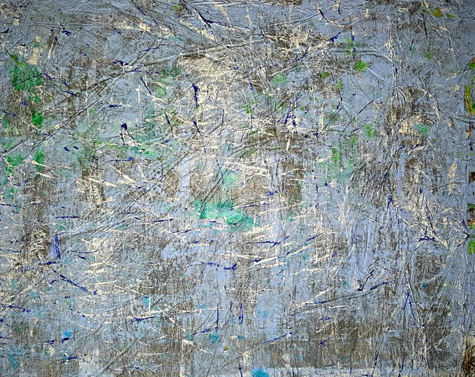 Running away (n.270) - 90 x 75 x 2,50 cm - ready to hang - acrylic painting on stretched canvas