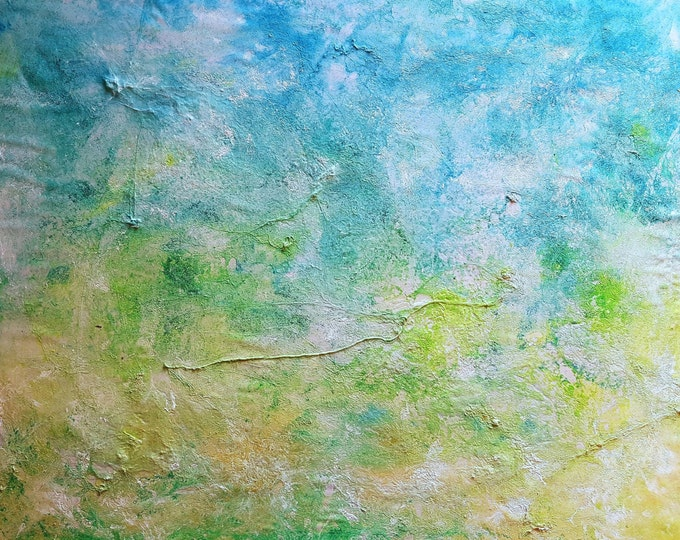 Two elements (n.267) - 85 x 65 x 2,50 cm - ready to hang - acrylic painting on stretched canvas