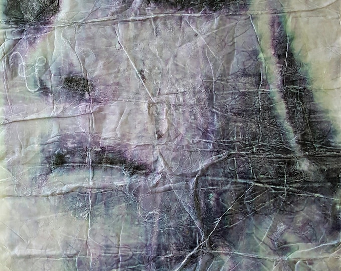 Nada (n.340) - 51,00 x 71,50 x 2,50 cm - ready to hang - mix media painting on stretched canvas