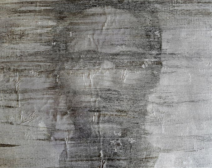 Riccardo (n.372) - 72,50,00 x 51,50 x 2,50 cm - ready to hang - acrylic painting on stretched canvas