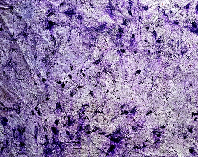 NOT AVAILABLE !!! - Doubts about the answer - Violet - (n.248) - 80 x 70 x 2,50 cm - ready to hang - acrylic painting on stretched canvas