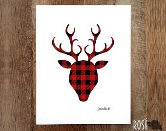 Poster Lumberjack Buck, Print