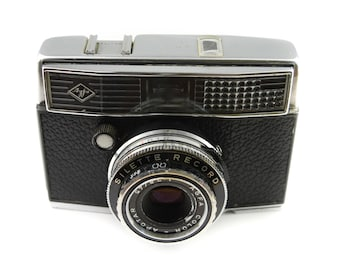 Agfa Silette Record Camera with Color - Apotar 45mm f/2.8 Lens c.1963