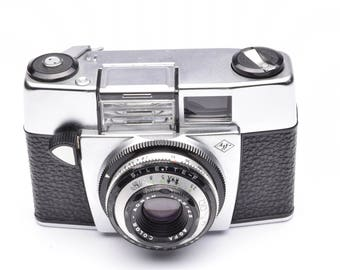 Agfa Silette - F Viewfinder Camera with Agnar 45mm f/2.8 Lens c. 1963