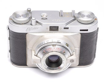 Wirgin Edixa II 35mm Rangefinder Camera with ISCONAR 43mm f/2.8 Lens c.1953-57
