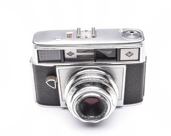 Agfa Super Silette Automatic Viewfinder Camera with Solinar 50mm f/2.8 Lens