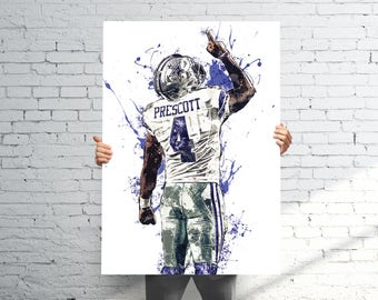 Dallas Cowboys Print Etsy