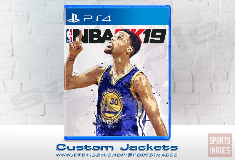 NBA 2K19 Case Jacket Stephen Curry Golden State Warriors  440ea18e532