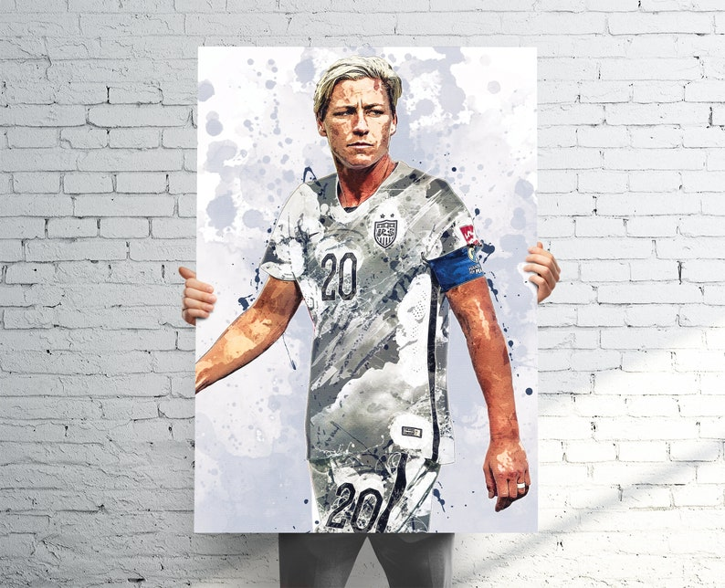 96d0757b7b2 Abby Wambach Team USA Soccer Sports Art Print Poster