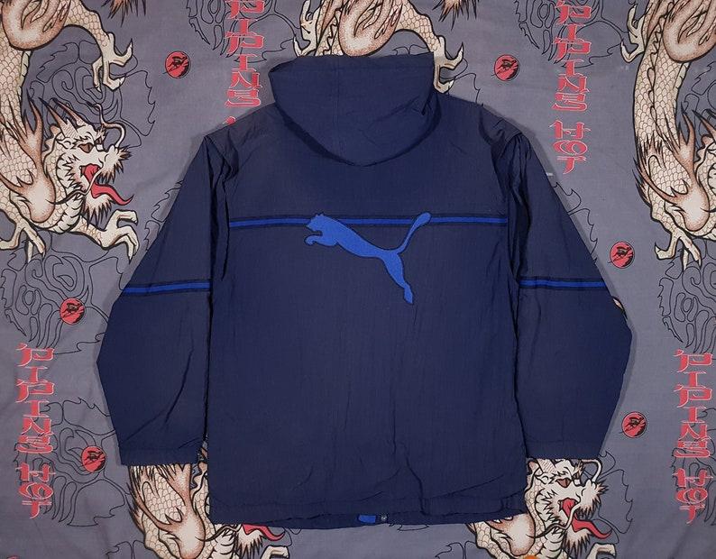 fe7c2c0e1cad 90s Puma Jacket Size XL Y2K Windbreaker Vintage Grunge