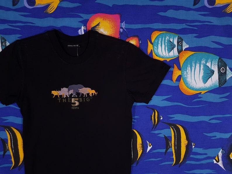 be6e6506b4 90s Safari T Shirt Size Small Vintage Graphic Tee Streetwear | Etsy