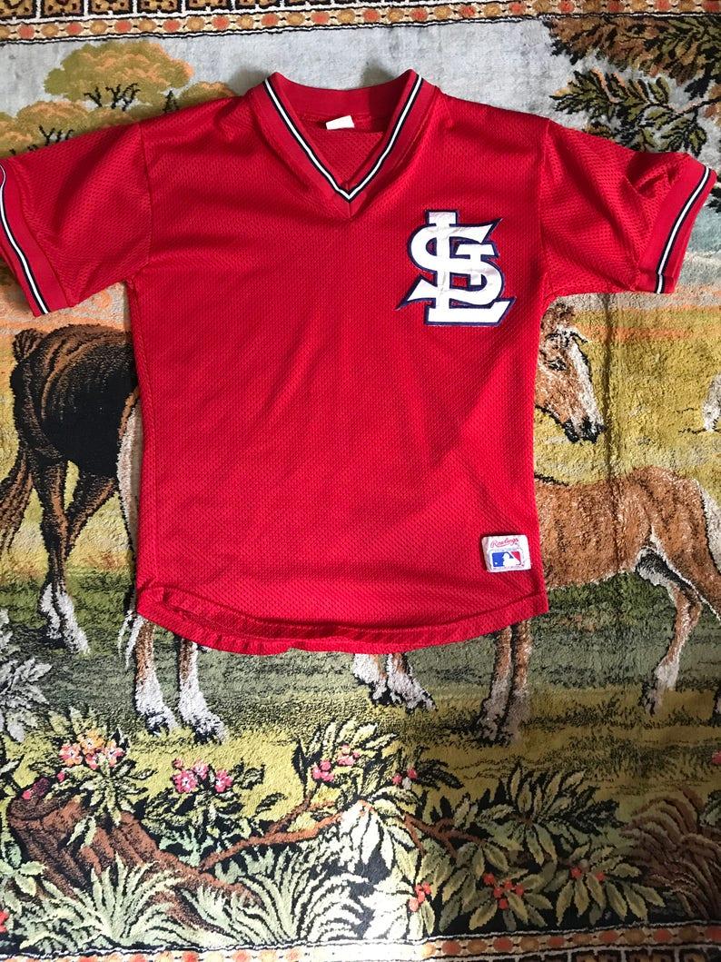 best loved e3f9f affe1 Vintage St. Louis Cardinals Jersey M