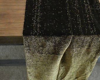 NEW GOLD color! Glitter Tights Women's Black tights with Gold Lurex Sparkle Tights Gift for Her