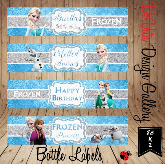 picture about Frozen Printable Labels identified as Frozen Drinking water Bottle Labels, Printable Disney Princess drinking water labels, Princess Elsa Social gathering, Custom-made, Tailored Labels, Electronic Document