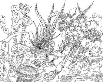 Colouring Sheet - Seeing Eye Fish