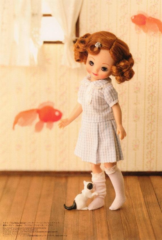 DCR3\\TB1 Tiny Betsy Doll E Pattern Japanese PDF Dress Bloomers