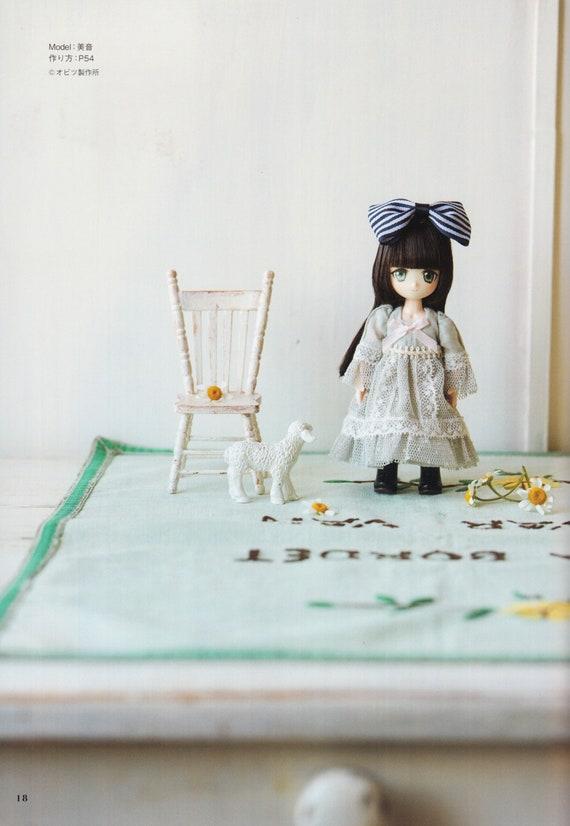 DCR12\\11/_3 Obitsu 11cm E Pattern Japanese PDF Dress Hairpin