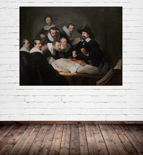 Rembrandt: Die Anatomie-Lektion von Dr. Nicolaes Tulp 1632