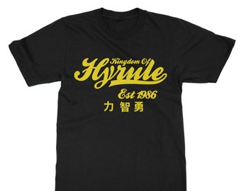 Kingdom of Hyrule T-Shirt inspired by Legend of Zelda