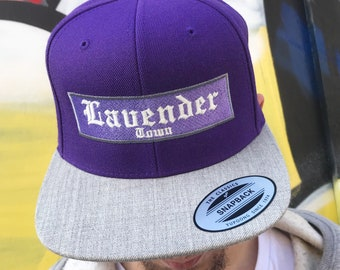 c97ac76c724f7 Limited Edition Lavender Town Glow in the dark Snapback Cap inspired by  Pokemon