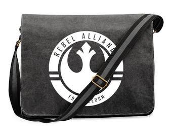 Rebel Alliance Canvas Dispatch Bag Inspired by Star Wars