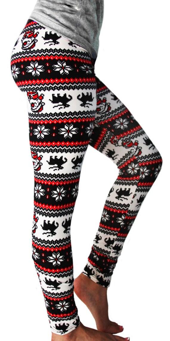image 0 - Christmas Leggings Womens