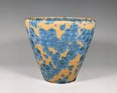 Indoor Planter, Handmade Pottery, Crystalline Glazed