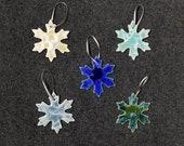 Gift for MOM Ceramic Snowflake Ornament