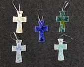 Gift for MOM Ceramic Cross Ornament