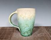 Hand Thrown Ceramic Crystalline Mug