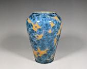 Gift for MOM Hand Thrown Ceramic Crystalline Vase