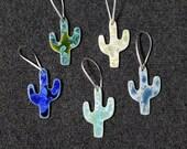 Gift for MOM Ceramic Cactus Ornament