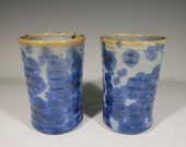 Gift for MOM Handmade Small Ceramic Cups set of 2
