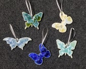 Gift for MOM Ceramic Butterfly Ornament