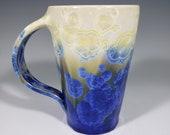 Gift for MOM Hand Thrown Ceramic Crystalline Mug