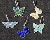 Ceramic Butterfly Ornament