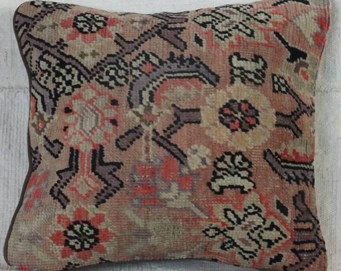 14x15 Pillow Case, Turkish Rug Pillow