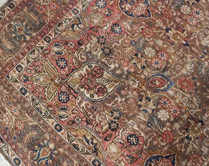 """8'6""""x11'5"""" ft  Vintage Rug, Oversized Oushak  Rug , Large Turkish Rug, Large vintage Rug , Large Oriental Rug / C-4343"""