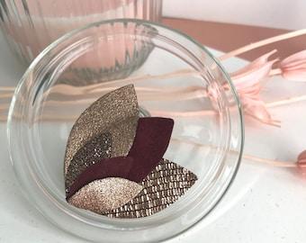 ISIS petals brooch
