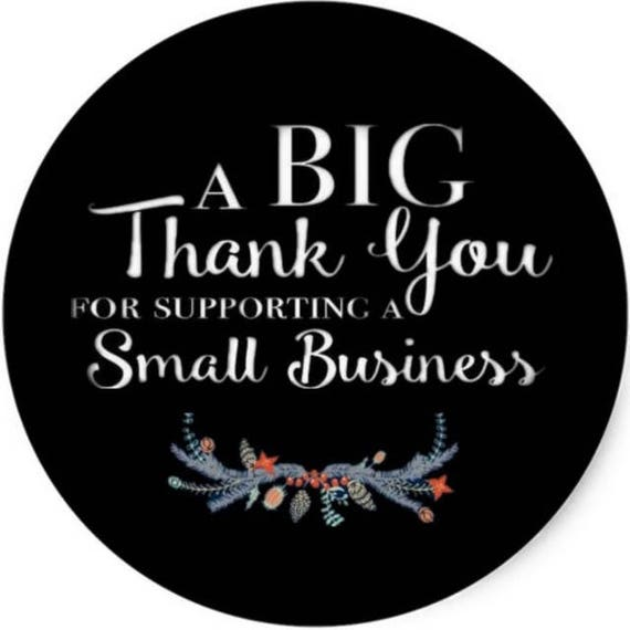 Image result for thank you for supporting small business
