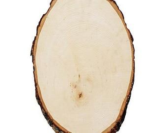 1PC Rustic Wedding Centerpiece, Round/Oval Tree Bark Slice, Rustic Wood, Rustic, Rustic Decorations, Natural Wood Slice, Tree Slice, Trunk