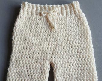 Crochet Baby Pants Etsy