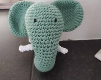 Rattle 'elephant' - baby - toy