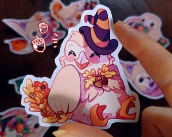 Pokemon Halloween Rowlet Sticker Pack
